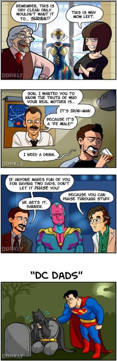 Marvel vs DC dads