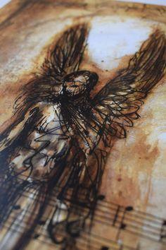 Fallen Angel Digital print Premium Satin Photo Paper 300 gm | Etsy #fallenangel #bookofenoch #angel #fallen #enoch biblical Digital Prints, Angel, Fall, Etsy, Fingerprints, Autumn, Angels