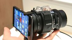 Hands-On: Sony E-Mount Interchangeable Lens Camera at IFA 2014 news. New Technology Gadgets, Spy Gadgets, Film App, Accessoires Photo, Future Gadgets, Best Smartphone, Video Photography, Photography Gear, Diy Electronics