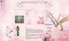 Elegia's Background Garden: Pink ButterFly BackGround