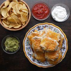 Knusprige Fajita-Taschen mit Steak - My list of the most healthy recipes Mexican Food Recipes, Beef Recipes, Cooking Recipes, Healthy Recipes, Indian Recipes, Cooking Cake, Cooking Gadgets, Cooking Food, Burger Recipes