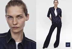 The Essentialist - Fashion Advertising Updated Daily: Gap Blue Denim Ad Campaign Fall/Winter 2015/2016