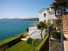 5 bedroom detached house for sale in Strawberry Hill House, Vico Road, Dalkey, Co Dublin, - Rightmove. Strawberry Hill House, Ireland Homes, International Real Estate, Fruit Garden, Apartments For Sale, Water Features, Townhouse, Property For Sale, Luxury Homes