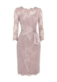 Glamorous Off Shoulder Long Sleeves Sweep Train Pink Mother of the Bride Dress with Lace Top - Wisebridal.com