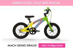 Ollo macht das Leben bunter! Reminder: Unser Herbst-Sale läuft noch bis zum 15.Okt 16 auf www.ollo-bikes.com! #kinderfahrrad #bike #bicycle #kinder #gruen #herbst #ollo #ollobikes #design #ollomachtdaslebenbunter #sale