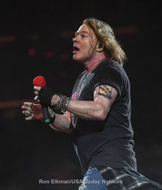 Axl Rose  with AC/DC, 2016 #axlrose #rockicon #rockstar #axl/dc #RockOrBustTour