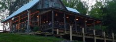 (1 of 2) Amis Mill Eatery (pronounced Amee), 127 West Bear Hollow Road, Rogersville, Tennessee. Delicious food, wonderful ambiance, gorgeous view.....