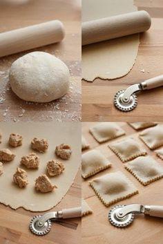 Gluténmentes ravioli recept Ravioli, Paleo, Lunch, Dinner, Recipes, Food, Cookies, Savory Snacks, Kuchen