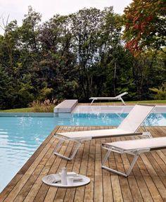 Chaise longue Mirto Outdoor B&B Italia Outdoor - Design by Antonio Citterio