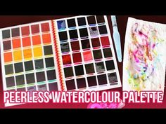How I Made My Peerless Watercolour Palette - YouTube