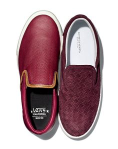 The 10 Best Menswear Trends of 2012: Wear It Now: GQ    3. The Slip-On Sneaker  Lazy men everywhere rejoice! Laces were so 2011, and one shoe saving time when getting dressed is the slip-on sneaker, like old-school Vans, that retains its laid-back California cool, but wouldn't be out of place anchoring a suit.