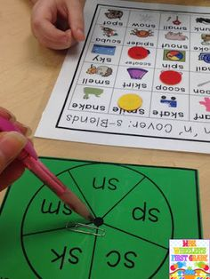 Blends Activities for k-1