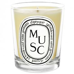 Musc White Candle DIPTYQUE