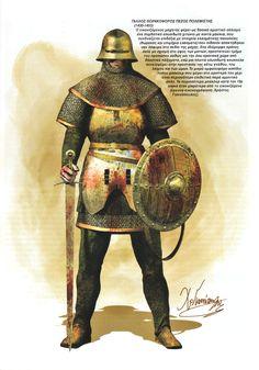 Christos Giannopoulos - Hombre de armas francés, siglo XV
