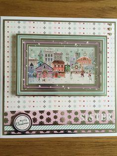 Made with Hunkydory Christmas craftinator 2015