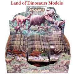 Land of Dinosaurs Gift Box (Toy Dinosaurs)