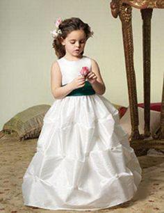 Flower girl dress by Jordan fashions