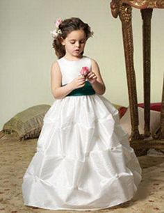 Flower girl dress by Jordan fashions