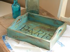Vintage Shabby Chic Rustic Beach style French