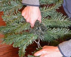 DIY Christmas Decor: Faux Tree Repurposed 3 Ways DIY Christmas Decor: Faux Tree Repurposed 3 WaysLearn how to make Christmas decorations from an old fake Christmas tree. Outdoor Christmas g Outdoor Christmas Garland, Alpine Christmas Tree, Recycled Christmas Tree, Diy Christmas Decorations For Home, Cheap Christmas Gifts, Diy Christmas Tree, Vintage Christmas, Fake Xmas Tree, Christmas Tree Branches
