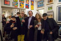 Artists Marie Carroll, Graham Knuttel and more at the Duke Street Gallery Launch March Street Gallery, Las Vegas Nevada, Throwback Thursday, Duke, Graham, Product Launch, March, Artists, Artwork