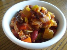 Best chili I've ever eaten! Super healthy and 100% delicious. I can't wait to make it again.