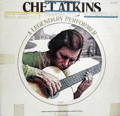 A Legendary Performer Wildwood Flower, Chet Atkins, Shop Rags, Best Albums, Album Releases, Cover Art, Vinyl Records, Cool Pictures, Blues