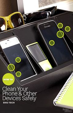 Cut down on germs and bacteria with these must-know tips for cleaning your tech.