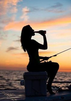 #sea #beer #fishing #girl #summer #woman