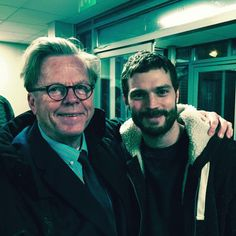 New/Old picture of #JamieDornan & Krister Henriksson on set #TheFall Season 3    Via: JDO