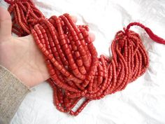 Coral - Bead Necklace