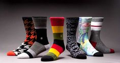 Super rad socks with great arch support and killer designs!