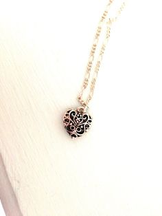 Caroline Forbes Vervain Heart Necklace The by LoveEvelynnDesigns, $15.00