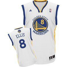 c395ad5ba Adidas NBA Golden State Warriors 8 Monta Ellis New Revolution 30 Swingman  Home White Jersey Golden