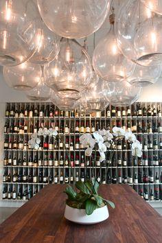 Amazing wine bottle lights