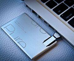 USB Metal Business Cards