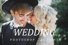Photoshop wedding actions by Fotomarket on @creativemarket