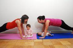Si no tu bebé no te deja tiempo para hacer ejercicio ¡que venga también!