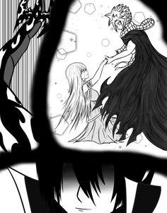 FAIRYTAIL - Battle of Ishgar - P 11 (NaLu Doujin) by ArgonianKronos Fairy Tail Funny, Fairy Tail Nalu, Fairy Tail Ships, Fairy Tail Family, Fairy Tail Couples, Nalu Comics, Anime Comics, Natsu And Lucy, Fairytail