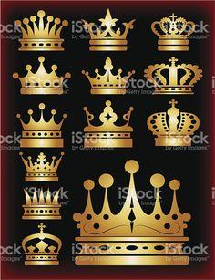 Crown symbol for your web site design. King Crown Drawing, Site Design, Logo Design, Crown Symbol, Crown Art, Kings Crown, Subway Art, Button Art, Free Vector Art