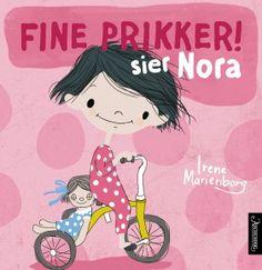 Nora-bøkene er fargerike, lekne og gjenkjennelige fortellinger for de aller minste - et nytt og sjarmerende småbarnsunivers!