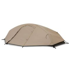 Stealth I Solo tent - Catoma Outdoor (USA site). The Stealth 1 tactical tent has clips and sleeves for fast, easy setup in windy or night-time conditions. The tent is light-weight and packs small for easy carry on multiple operations. The large fly stakes out to provide a vestibule over the single door. With a full 8 feet in length the Stealth 1 provides ample living space, weather protection, breathability, durability and storage.