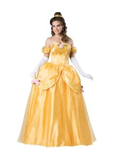 Just Out Disney Beauty And The Beast Belle Ultra Prestige Adult Costume Sensational Range Of Beauty The Beast Costumes For Halloween At Partybell
