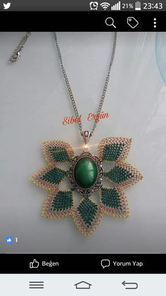 Beaded Jewelry, Piercings, Diy And Crafts, Pendants, Lace, Create, Moda Masculina, Necklaces, Jewels
