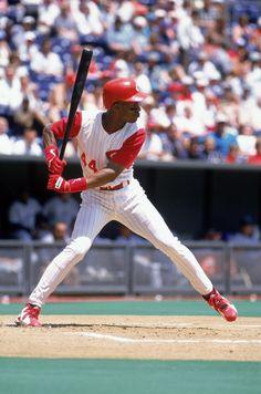 "Eric Davis ""Eric the Red"" (1984-1991, 1996) NL All-Star in 1987 & 1989, 3x Gold Glove (1987,1988,1989), Silver Slugger (1987, 1989)"
