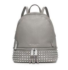 8bdbf7ebce MICHAEL Michael Kors Rhea Small Studded Leather Backpack