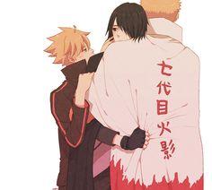 Pixiv Id 12733746, NARUTO, Uzumaki Naruto, Uchiha Sasuke, Uzumaki Boruto