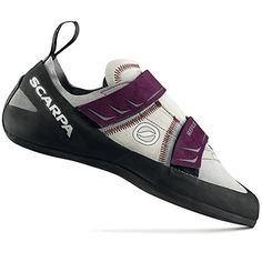 Scarpa Womens Reflex Climbing ShoePewterPlum37 EU6 M US *** Be sure to check out this awesome product.