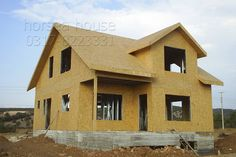 Cold Formed Small Prefab Shed Prefab Sheds, Steel House, Steel Buildings, Steel Frame, Villa, Construction, House Design, Cabin, House Styles