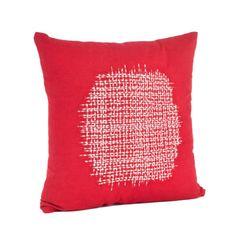 Saro Spice Market Stitched Design Cotton Throw Pillow & Reviews | Wayfair